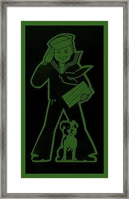 Crackerjack Olive Drab Framed Print by Rob Hans