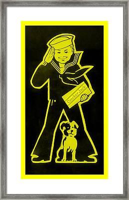 Crackerjack Yellow Framed Print by Rob Hans
