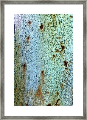 Crackled Case Framed Print