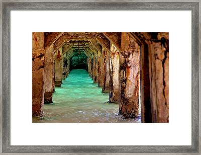 Time Passages Framed Print by Karen Wiles
