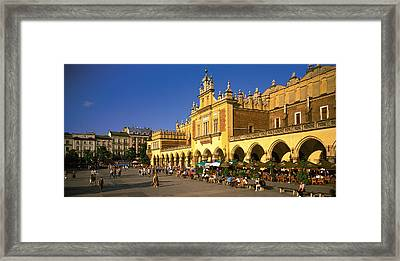 Cracow Poland Framed Print by Panoramic Images