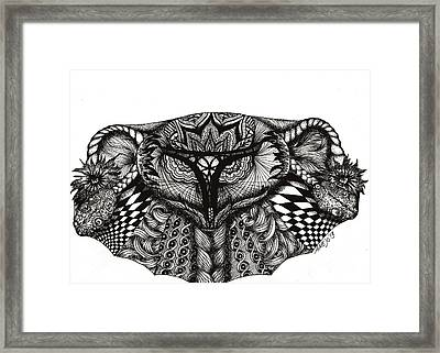 Cradle Of Life Framed Print by Ame Jo Hughes