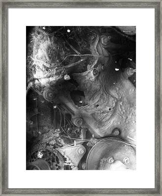 Cradle Of Stress  Framed Print