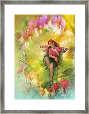 Cradle Your Heart Framed Print