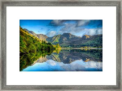 Craf Nant Lake Framed Print