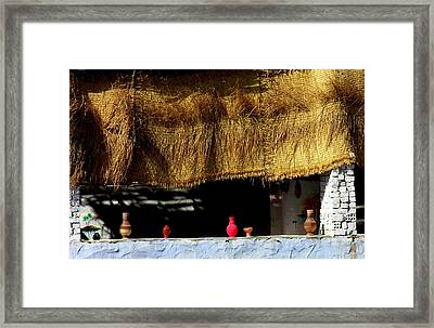 Crafts In Nubia Egypt Framed Print by Jacqueline M Lewis