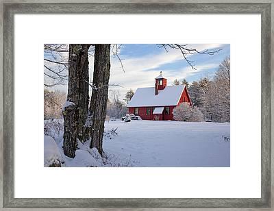Framed Print featuring the photograph Craftsman's Barn by Larry Landolfi