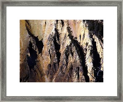Crag Framed Print