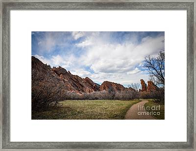 Craggy Wonder Framed Print