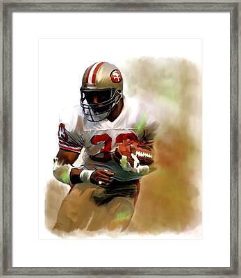 Craig    Roger Craig  Framed Print by Iconic Images Art Gallery David Pucciarelli