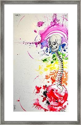 Crainial Sacral Chakra Framed Print by James Foote