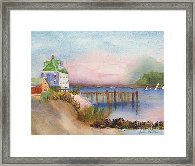 Cranberry Islands Framed Print