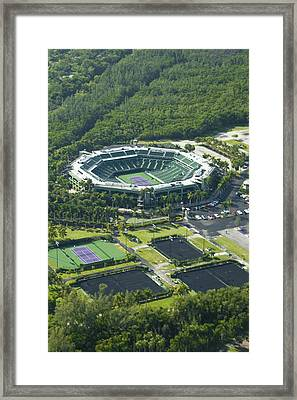 Crandon Park Tennis Center Framed Print