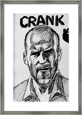 Jason Statham Framed Print by Salman Ravish
