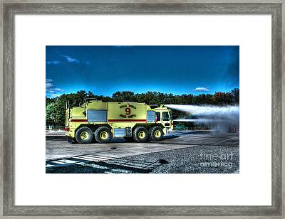 Crash 9 Framed Print by Tommy Anderson