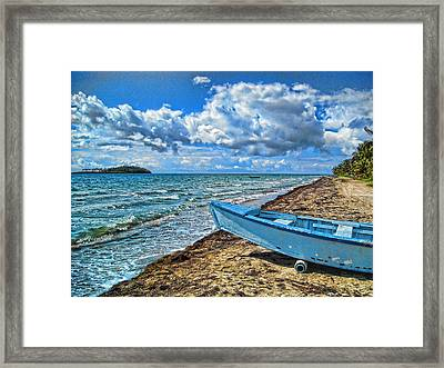Crash Boat Framed Print
