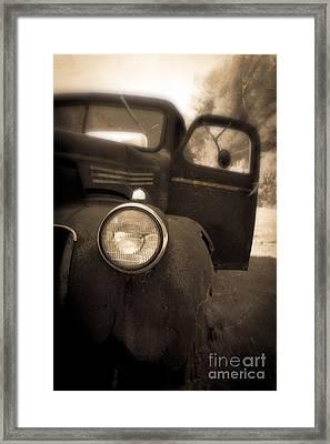 Crash Framed Print by Edward Fielding