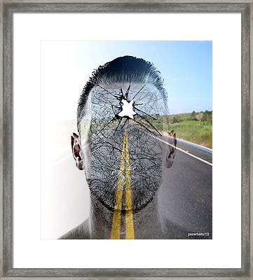 Crash II Framed Print by Paulo Zerbato