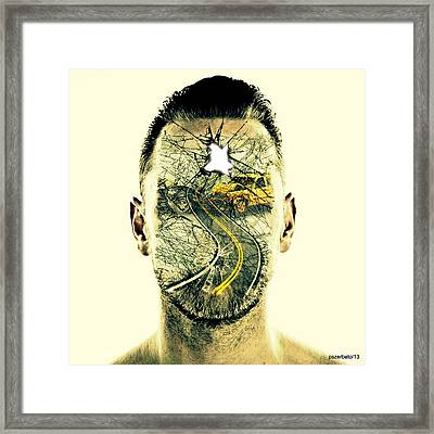 Crash Framed Print by Paulo Zerbato