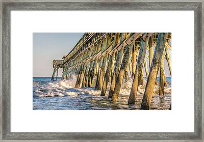 Framed Print featuring the photograph Crash by Rob Sellers