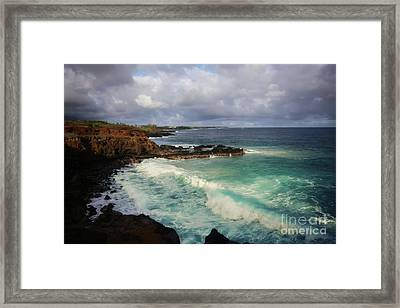 Crashes Framed Print