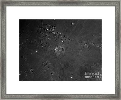 Crater Copernicus Region Framed Print by John Chumack
