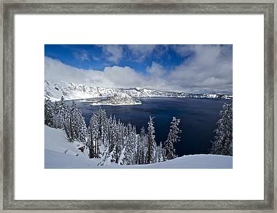 Crater Lake 040913a Framed Print