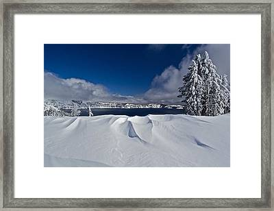 Framed Print featuring the photograph Crater Lake 040913b by Todd Kreuter