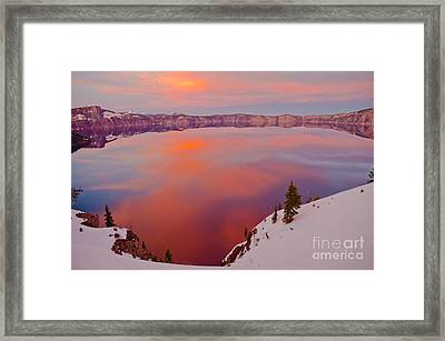 Crater Lake 1 Framed Print