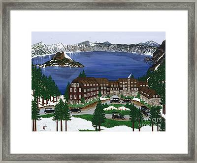 Crater Lake National Park Framed Print