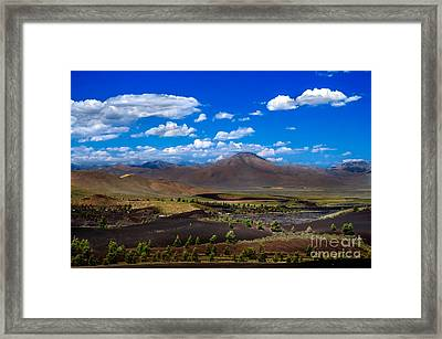 Craters Of The Moon Framed Print by Robert Bales