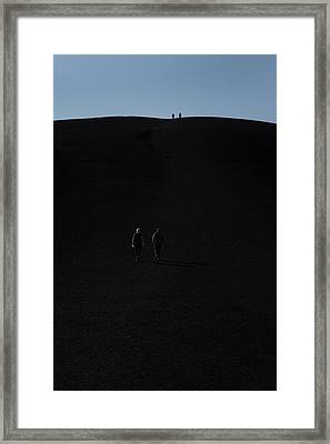 Craters Of The Moon Volcanic Cone Framed Print by Jim West