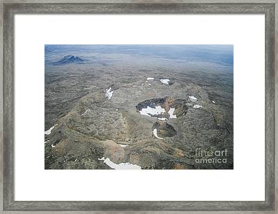 Craters Framed Print by Patricia Hofmeester