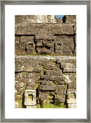 Craving On Side Of Ruin Framed Print