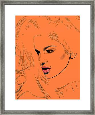 Crawford Orange Framed Print by GCannon