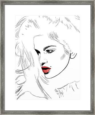 Crawford White Framed Print by G Cannon