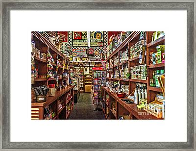 Crawley General Store Framed Print