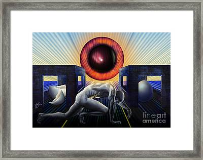 Crawling To Life Framed Print