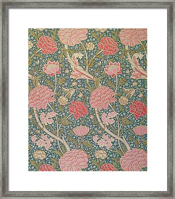 Cray Framed Print by William Morris