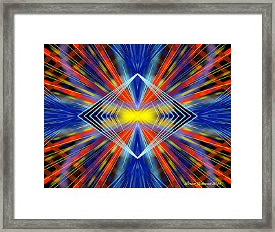 Crazy Framed Print