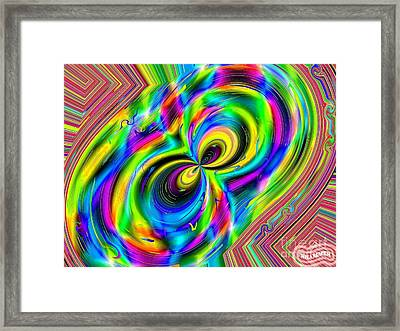 Crazy Eights Framed Print by Bobby Hammerstone