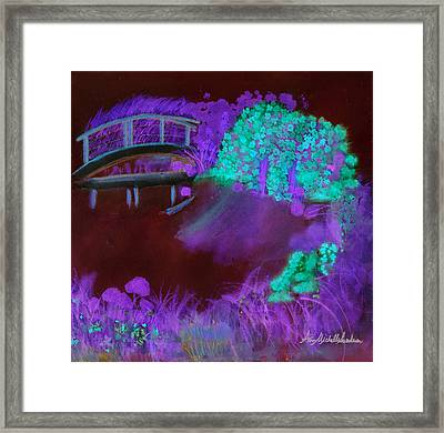 Crazy Exposure Mary's Bridge Framed Print