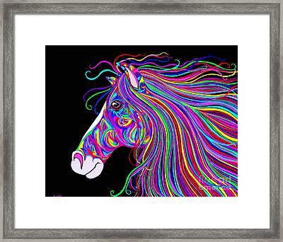 Crazy Horse Framed Print