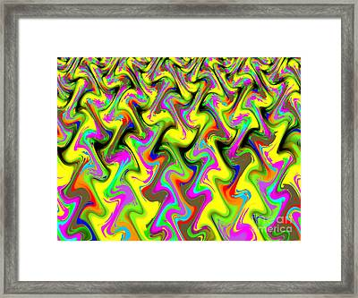 Crazy Legs Framed Print by Lorraine Heath