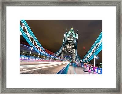 Crazy London Framed Print