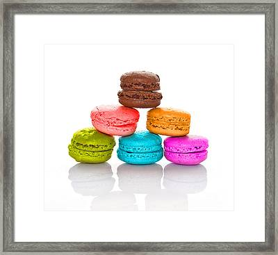 Crazy Macarons 2 Framed Print by Delphimages Photo Creations