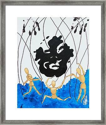 Crazy Maybe Framed Print