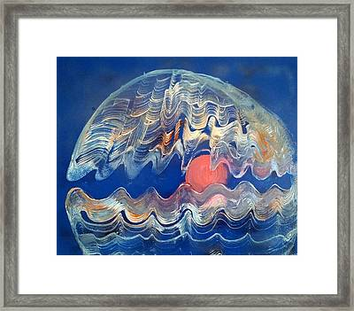 Crazy Oyster Framed Print