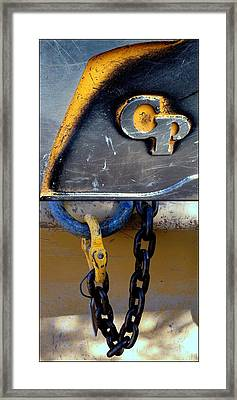 Crazy Pants Three Framed Print by Marlene Burns