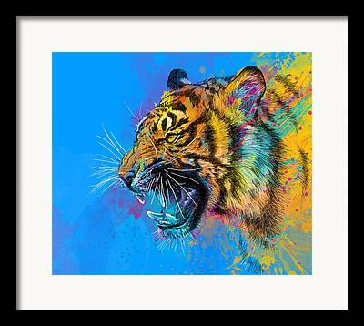Colorful Mixed Media Framed Prints